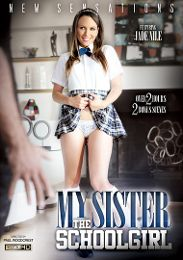 "Featured Studio - New Sensations presents the adult entertainment movie ""My Sister The Schoolgirl""."