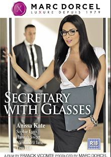 Secretary With Glasses, starring Anissa Kate, Alessandra Jane, Tina Hot, Hanna Sweet, Sophie Lynx, Rick Renato, Cristian Devil, Mugur, Sabby and James Brossman, produced by Marc Dorcel SBO and Marc Dorcel.