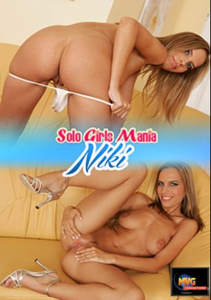 Solo Girls Mania: Niki, starring Nikki James, produced by MVG Productions.