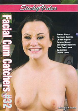 Facial Cum Catchers 32, starring Brooklyn Daniels, Emma Snow, Dee Dee Lynn, Chase Ryder, Karmen Karma, Jenna J. Ross, Cameron * and Gianna Love, produced by Sticky Video.