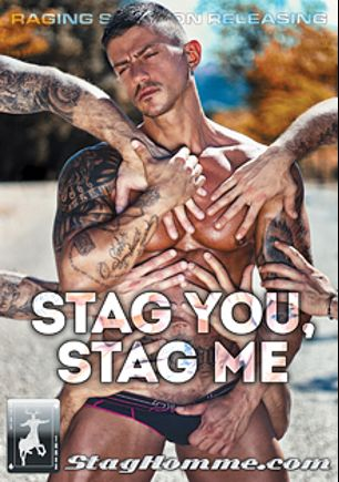 Stag You Stag Me, starring Damien Crosse, Gabriel Vanderloo, Anonymous, Juan Lopez, Francesco D'Macho and Goran, produced by Stag Homme Studios.