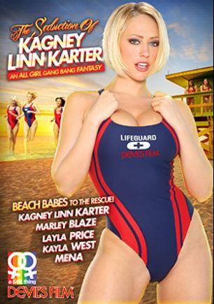 The Seduction Of Kagney Linn Karter, starring Kagney Linn Karter, Kayla West, Marley Blaze, Mena Li and Laela Pryce, produced by Devils Film and Devil's Film.