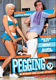 Pegging 9, starring Laela Pryce, Mena Li, Raven Bay, Alura Jenson, Giovanni Francisco, Chad Diamond and Christian XXX, produced by Devils Film and Devil's Film.