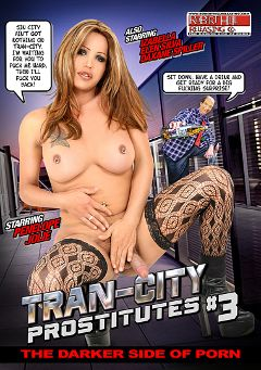 "Adult entertainment movie ""Tran-City Prostitutes 3"" starring Isabelle Brandao, Penelope Jolie & Dayanna. Produced by Robert Hill Releasing Co.."
