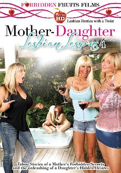 "Adult entertainment movie ""Mother-Daughter Lesbian Lessons 4"" starring Halle Von, Kimber Wood & Amber Lynn Bach. Produced by Forbidden Fruits Films."