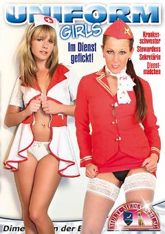 "Adult entertainment movie ""Uniform Girls"". Produced by MMV Multi Media Verlag."