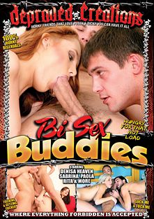 Bi Sex Buddies, starring Claudia Bella, Rita Peach, Denisa Heaven Jennifer, Fernanda Hot, Joe Intenso, Luis Bigdog, Nick Daniels, Rick Montila, Matheus, Denis Reed, Junior and Alex Leite, produced by Depraved Creations and Mile High Media.