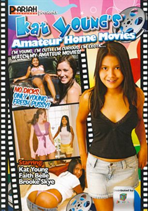 Kat Young's Amateur Home Movies, starring Faith Belle, Kat Young and Brooke Skye, produced by JM Productions.