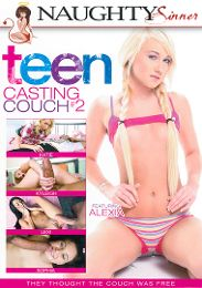 "Featured Category - Fresh Faces presents the adult entertainment movie ""Teen Casting Couch 2""."