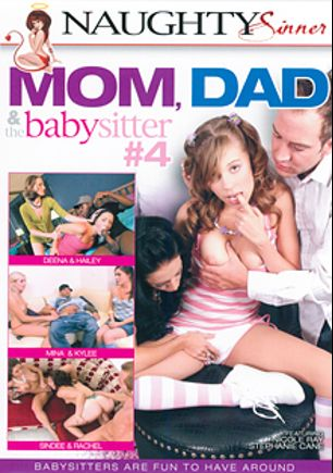 Mom, Dad And The Babysitter 4, starring Nicole Ray, Stephanie Cane, Kylee Reece, Mina Lee, Deena Daniels, Rachel Roxx, Jon Jon, Sindee Jennings and Hailey Young, produced by Naughty Sinner.