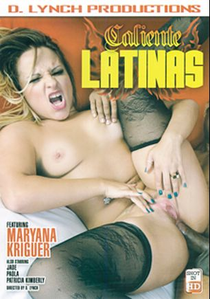 Caliente Latinas, starring Maryana Kriguer, Patricia Kimberly, Paula and Jade, produced by D. Lynch Productions.