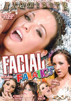 "Adult entertainment movie ""Facial Fanatics"" starring Amy Valor, Deena Daniels & Aurora Chase. Produced by EXP Exquisite."