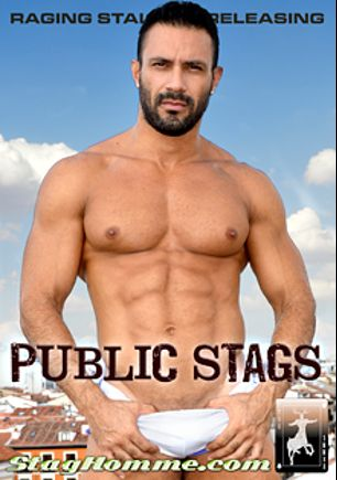 Public Stags, starring Flex (ll), David Avila, Max Toro, Robin Sanchez, Goran and Damien Crosse, produced by Stag Homme Studios.