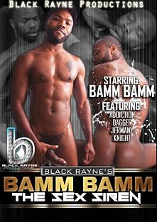 Bamm Bamm The Sex Siren, starring Bam Bam, Jermany, Knight, Dagger and Addiction, produced by Black Rayne Productions.