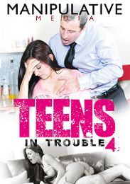 "Featured Category - All Sex presents the adult entertainment movie ""Teens In Trouble 4""."
