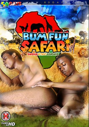 Bum Fun Safari, starring Hakim, Milton (m), Sasa, Toni (m), Ronald, James *, Jack, Michael * and Martin *, produced by CJXXX and 80 Gays.