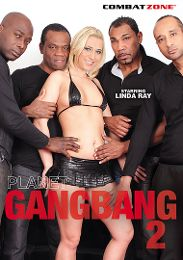 """Featured Category - Blondes presents the adult entertainment movie """"Planet Gang Bang 2""""."""