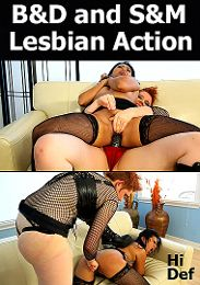 "Just Added presents the adult entertainment movie ""B And D And S And M Lesbian Action""."