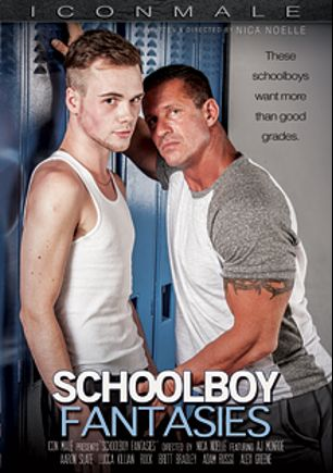 Schoolboy Fantasies, starring Rock, Lucca Killian, Brett Bradley, Aaron Slate, Doug Acre, Alexander Greene, AJ Monroe and Adam Russo, produced by Iconmale and Mile High Media.