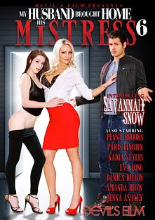 My Husband Brought Home His Mistress 6, starring Savannah Snow, Penny Brooks, Eva Long (f), Jenna Ashley, Paris Lincoln, Giovanni Francisco, Amanda Blow, Danica Dillan, Tommy Pistol, Lisa Lee, Barry Scott, Marco Banderas, Nadia Styles and Jennifer Dark, produced by Devils Film and Devil's Film.