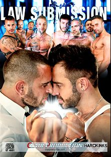Law Submission, starring Aday Traun, Damian Gomez, Frank Valencia, Martin Mazza, Edu Boxer, Matthew and Steven, produced by Hard Kink and Vimpex Gay Media.