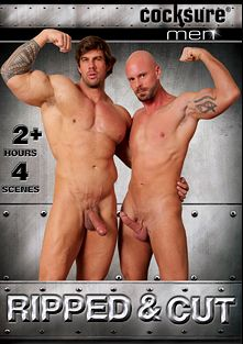 Ripped And Cut, starring Mitch Vaughn, Zeb Atlas, Jessy Ares, Tate Ryder, Cavin Knight, Topher DiMaggio, Phillip Aubrey and Jeremy Stevens, produced by Cocksure Men and Jake Cruise Media.