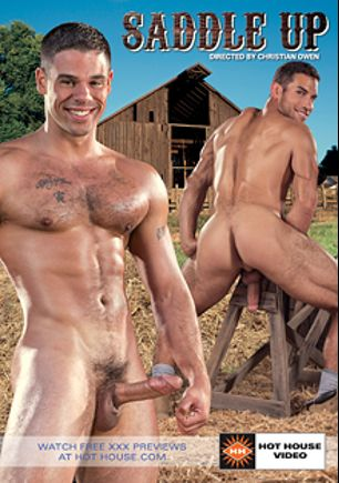 Saddle Up, starring Derek Atlas, Ricky Decker, Ryan Rose, Brian Bonds, Micah Brandt, Jimmy Durano and Angelo, produced by Falcon Studios Group and Hot House Entertainment.