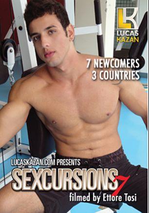 Sexcursions: LKP Casting 7, starring Raffaele Oliveira, Rosario (m), Luigi, Thiago, Ivan, Mario * and Marco, produced by Lucas Kazan Productions.