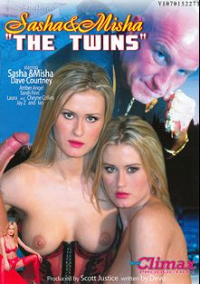 The Twins, starring Amber Sex, Sarah Finn, Dave Courtney, Cheyne Collins, Misha and Sasha, produced by Climax Production.