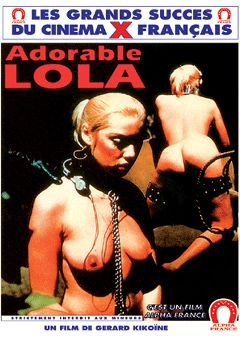 "Adult entertainment movie ""The Slave: Adorable Lola - French"" starring Marilyn Jess, Mika Barthel & Gilbert Servien. Produced by ALPHA-FRANCE."