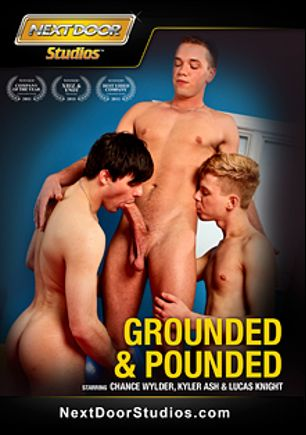 Grounded And Pounded, starring Chance Wylder, Lucas Knight, Kyler Ash, Devin Dixon, Jay Cloud, Steven Shields, Rick McCoy, Randall O'Reilly, Hayden Michaels, Matthew Keading, AJ Morgann and Anthony Romero, produced by Next Door Studios.