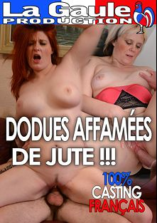 Dodues Affamees De Jute, starring Lula Boobs, Tatiana, Ricky Mancini and Lola, produced by La Gaule and HPG Production.