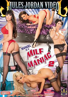 Manuel Is A MILF-O-Maniac 2, starring Nina Elle, Jessica Jaymes, Mercedes Carrera, Shay Fox and Manuel Ferrara, produced by Jules Jordan Video.