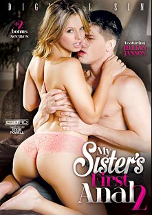 My Sister's First Anal 2, starring Jillian Janson, Alina West, Marilyn Moore, Madelyn Monroe, Bruce Venture, Jordan Ash and James Deen, produced by Digital Sin.