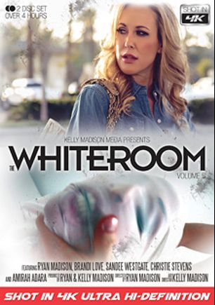 The Whiteroom 5, starring Brandi Love, Jared Grey, Christie Stevens, Amirah Adara, Keni Styles, Ryan Madison and Sandee Westgate, produced by 413 Productions, Kelly Madison Productions and Porn Fidelity.