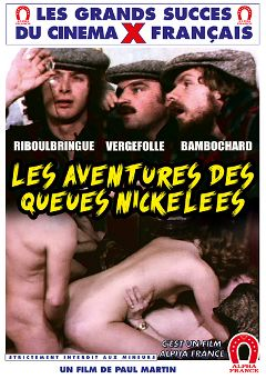 "Adult entertainment movie ""The Fuck Adventures Of The Wild Dicks - French"". Produced by ALPHA-FRANCE."