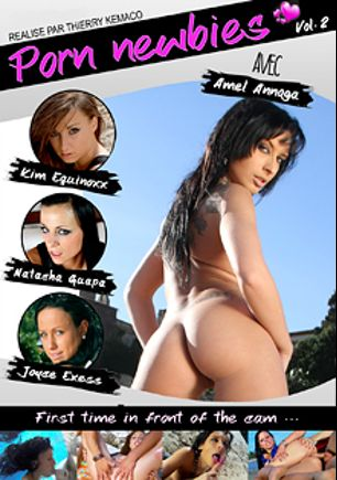 Porn Newbies 2, starring Amel Annoga, Joyce Exess, Natacha Guapa and Kim Equinoxx, produced by Kemaco.
