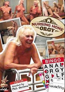 Nursing Home Orgy, starring Sally D'Angelo, Mandi McGraw, Leilani Lei, Tony D. and Jack Moore, produced by Vivid Entertainment.