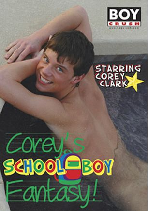 Corey's School Boy Fantasy, starring Corey Clark, Brett Ryder, Gabe Crawford and Angel Kelly (m), produced by Boy Crush.