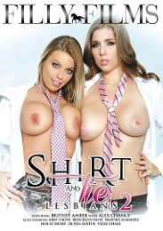 """Featured Studio - Filly Films presents the adult entertainment movie """"Shirt And Tie Lesbians 2""""."""