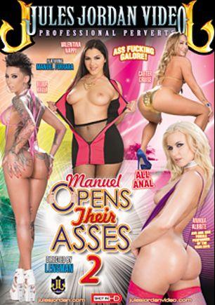 Manuel Opens Their Asses 2, starring Bella Bellz, Carter Cruise, Valentina Nappi, Anikka Albrite and Manuel Ferrara, produced by Jules Jordan Video.
