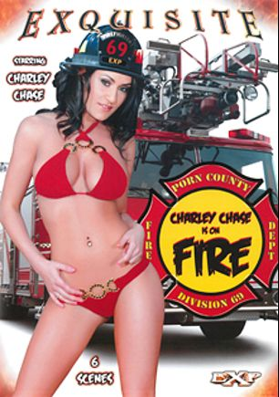 Charley Chase Is On Fire, starring Charley Chase, Rico Strong, Jean Claude Batiste, Justin Long, Sean Michaels and Tom Byron, produced by EXP Exquisite.