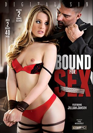 Bound For Sex, starring Jillian Janson, Samantha Hayes, Sara Luvv and Dahlia Sky, produced by Digital Sin.
