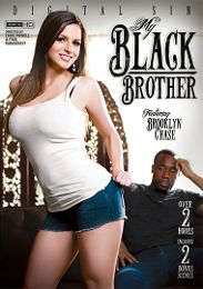 """Featured Category - Black Dicks / White Chicks presents the adult entertainment movie """"My Black Brother""""."""