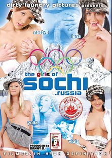 The Girls Of Sochi Russia, starring Nastya, Bonny Anderson, Yulia and Lena, produced by Dirty Laundry Pictures.