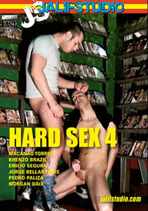 Hard Sex 4, starring Emilio Segura, Khenzo Brazil, Morgan Daix, Jorge Balantinos, Pedro Paliza and Macanao, produced by Jalif Studio.