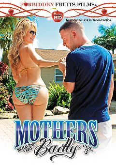 "Adult entertainment movie ""Mothers Behaving Very Badly 3"" starring Desi Dalton, Damon Dice & T Stone. Produced by Forbidden Fruits Films."