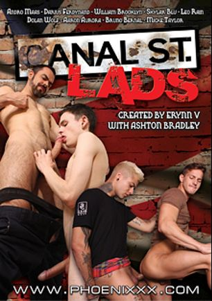 Canal St. Lads, starring Andro Maas, Mickey Taylor, William Brooklyn, Darius Ferdynand, Leo Rain, Bruno Bernal, Aaron Aurora, Skylar Blu and Dolan Wolf, produced by PornPlays and Phoenixxx.