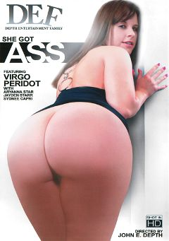 "Adult entertainment movie ""She Got Ass"" starring Aryana Starr, Virgo Peridot & Jayden Starr. Produced by Depth Entertainment Family."
