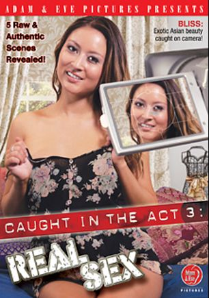 Caught In The Act 3: Real Sex, starring Rayveness, Sadie Santana, Reagan Ross, Nikki Hearts, Chad Diamond, Sasha Heart, Brenda James, Dick Chibbles and Jay Crew, produced by Adam & Eve.